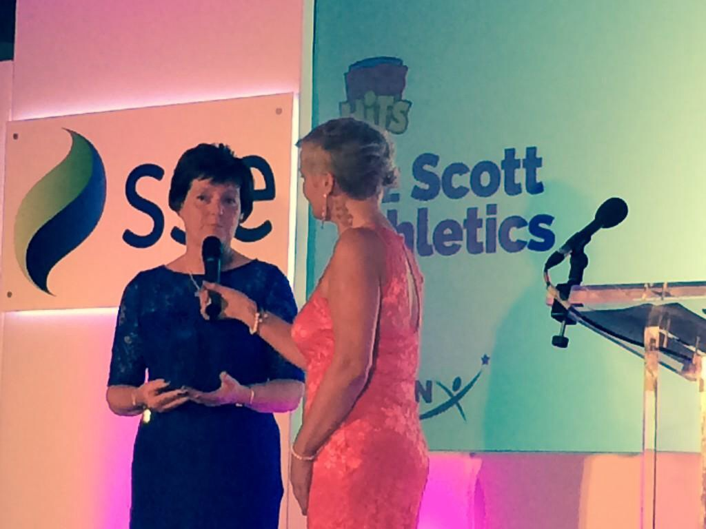 Blog 17: Scottish Women in Sport's Official of the Year!