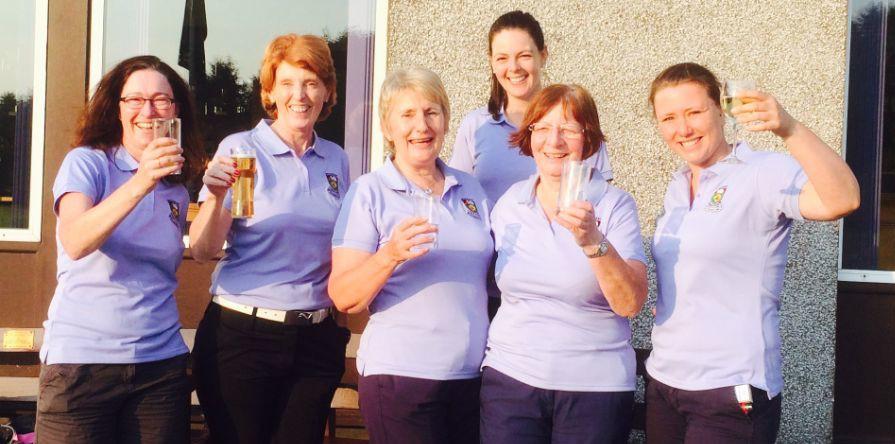 Blog 32: Muckhart Ladies Golf – 'Mail on Sunday' team